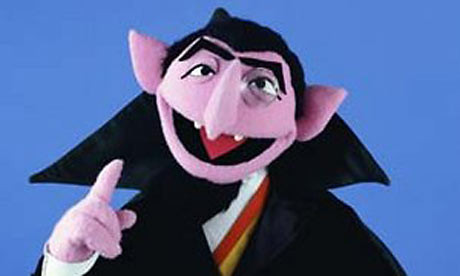 The Count... AH AH AH AH!