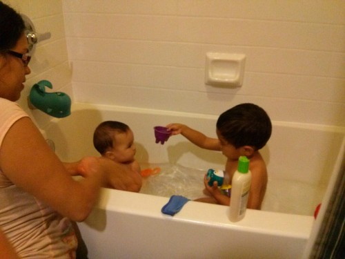 """""""I want to have bathtime with Julie"""""""
