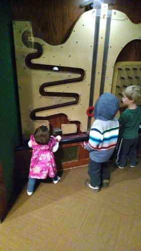 At the Discovery Museum