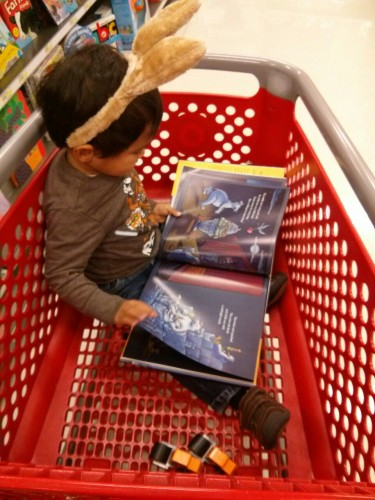 Reading in cart