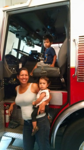 Mama took you to visit the fire station