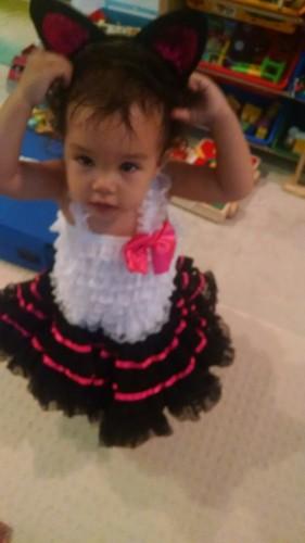 Early Halloween costume