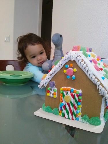 Gingerbread housing