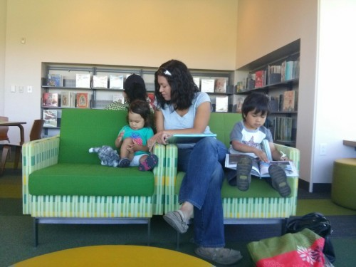 Library scabbie