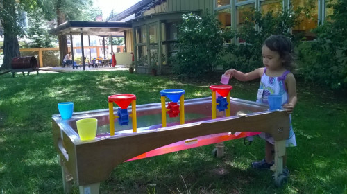 Water table all day