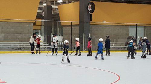 First hockey class