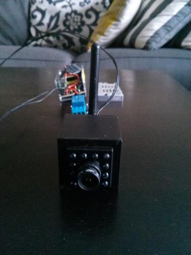 I'm testing this camera