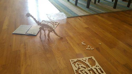 Dinosaur puzzle gift